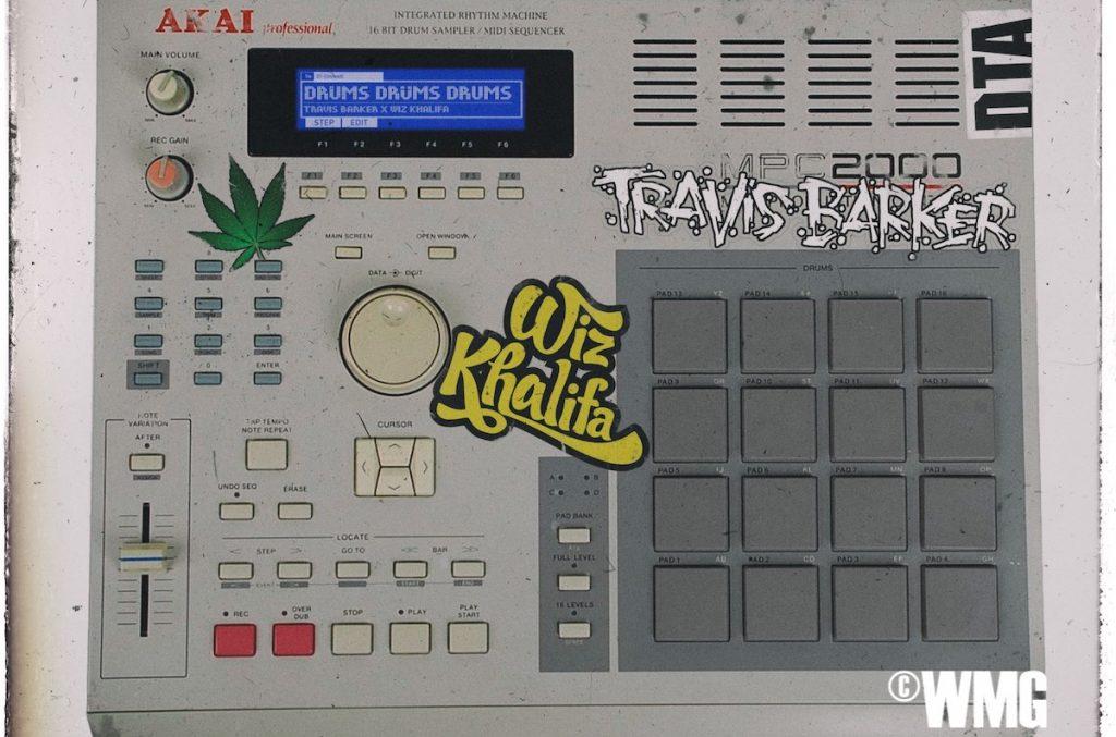 Travis Barker - Drums Drums Drums Travis Barker Wiz Khalifa Single - Bandbotschafter